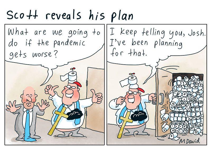 Mark David on pandemic planning
