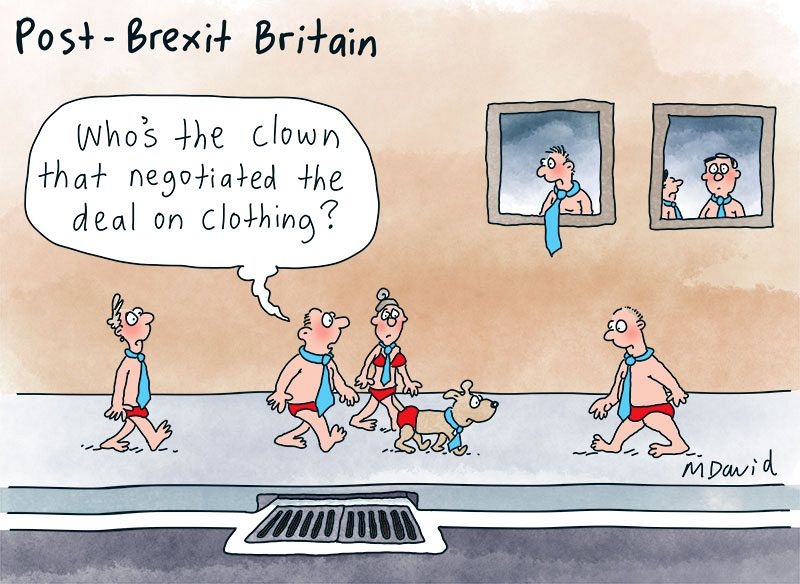 Mark David is Britain bound