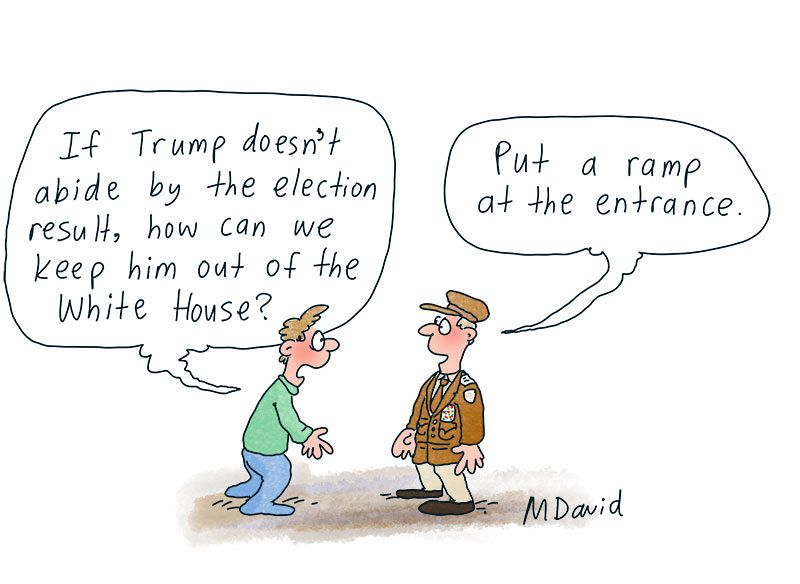 Mark David's Trumped-up truisms