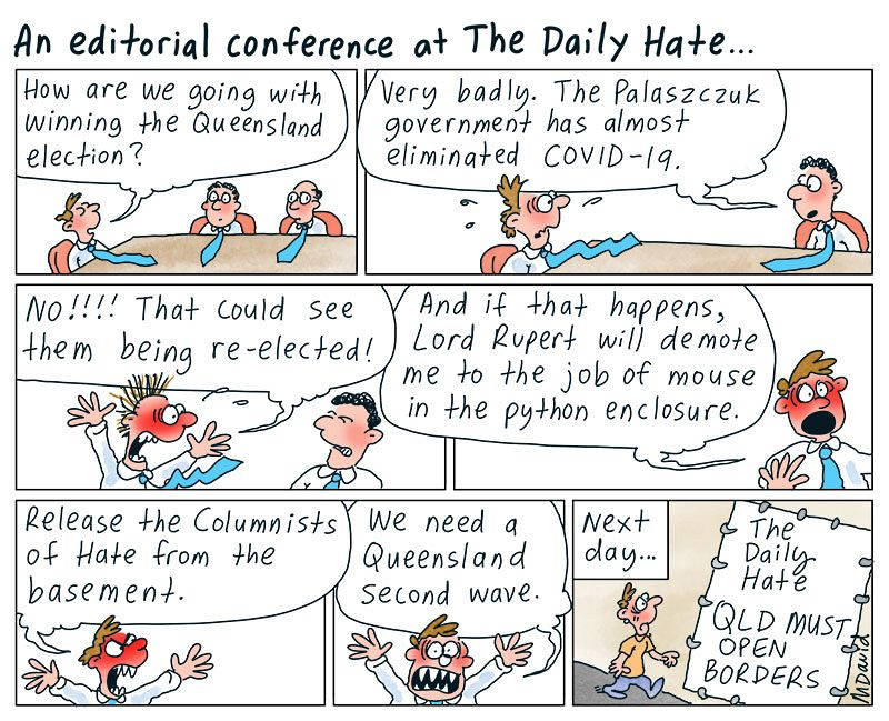 Mark David's media mantra