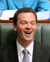 Manager of Opposition Business, Christopher Pyne.