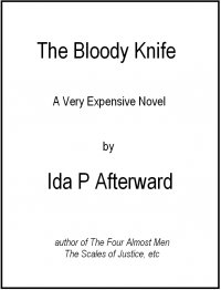 The Bloody Knife 2