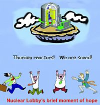 Thorium pie in sky