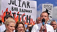Tony Abbott happily associates himself with far right extremists.