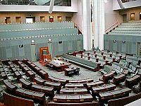 House of Representatives, Canberra.