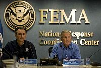 Bush Delivers Remarks About Hurricane Gustav At FEMA Headquarters