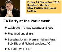 Party at the Parliament