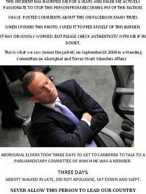 Tony Abbott and human decency
