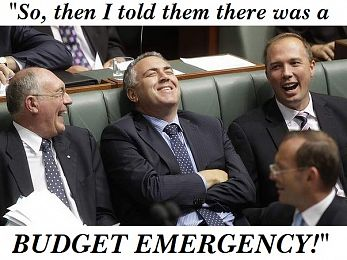 What budget emergency?