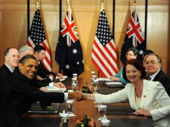 Australia's vassal state relationship to the United States