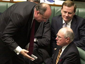 Peter Reith to toss remaining moderate Liberals overboard
