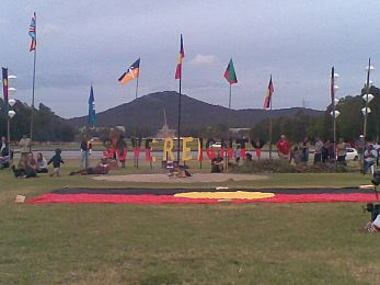 The Tent Embassy remains until a Treaty is sealed
