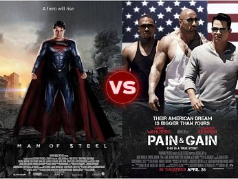 Screen Themes: Man of Steel vs Pain & Gain