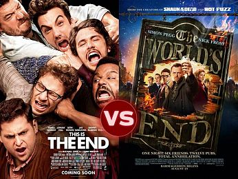 Screen Themes — This is The End vs The World's End