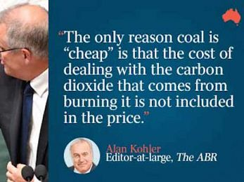 Abbott/Turnbull policy on climate change and energy caused current mess