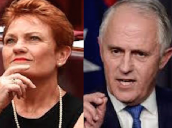 Mungo MacCallum: Hanson and Turnbull's Faustian bargain