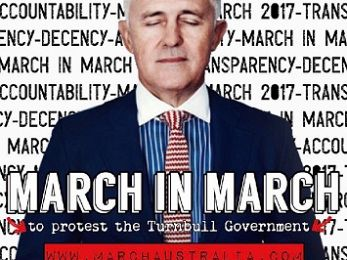 Fed up? Stand up! March in March 2017: For all the things our politicians are(n't)