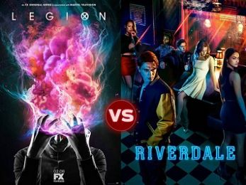 Screen Themes: Legion vs Riverdale