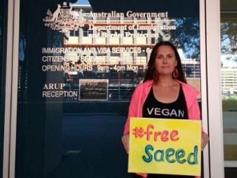 #FreeSaeed: 'I am a human being too'