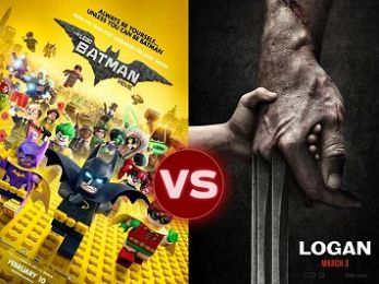 Screen Themes: Logan vs The Lego Batman Movie