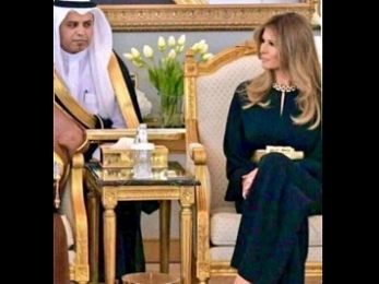 Baring it in Saudi Arabia: Melania Triumps