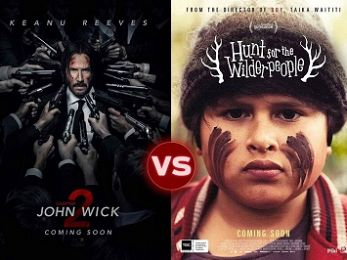Screen Themes: John Wick Chapter 2 vs Hunt for the Wilderpeople