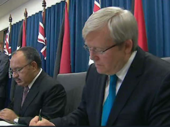 Kevin Rudd and Australia's 'No Advantage' refugee shame