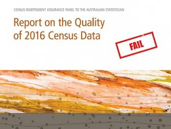Census Panel Report whitewash lets ABS off the hook for 2016 #CensusFail