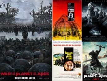 Screen Themes: War and the Evolution of Planet of the Apes