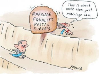 CARTOON: Marriage equality postal survey