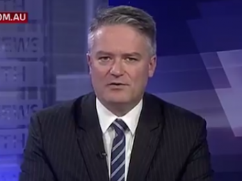 Mathias Cormann warns of Labor's 'reds under the beds'