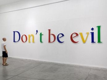 Don't be evil! Google's soft power to regime change