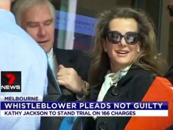Kathy Jackson back in front of court to frustrate justice again