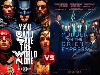 Screen Themes: Justice League vs Murder on the Orient Express