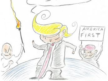 CARTOON: Trump first