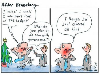CARTOONS: After Bennelong