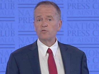 Shorten flags National Integrity Commission in speech of substance