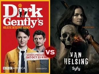 Screen Themes: Van Helsing vs Dirk Gently's Holistic Detective Agency