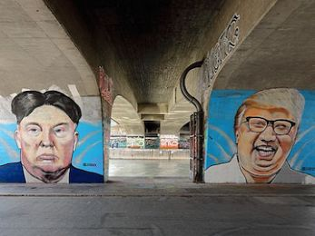 The Dotard and the Rocket Man