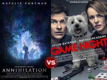 Screen Themes: Annihilation vs Game Night