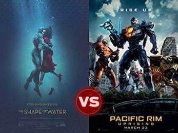 Screen Themes: The Shape of Water vs Pacific Rim: Uprising
