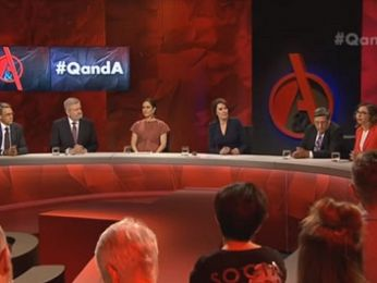 Panel show by numbers: ABC Q&A, Syria and all the usual suspects