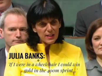 Can Liberal MP Julia Banks – or anyone – live on $40 per day?