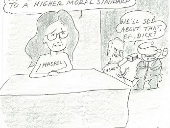 CARTOON: To a higher moral standard