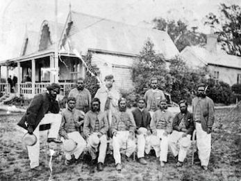 1868 Indigenous XI and the colonising game of cricket