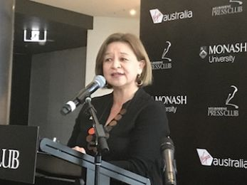 Fiercely protecting the ABC and Michelle Guthrie