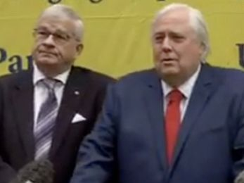 Clive Palmer and One Nation's Brian Burston: A match made in Heaven