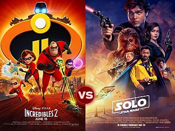 Screen Themes: Incredibles 2 vs Solo: A Star Wars Story