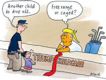 The concentration camps of Turnbull and Trump