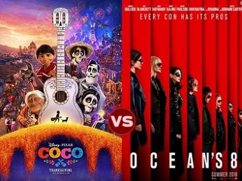 Screen Themes: Oceans 8 vs Coco